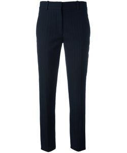 Victoria Beckham | Pinstriped Tailo Trousers 6 Cotton/Polyester/Cupro/Wool