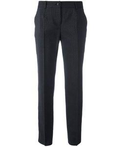 Dolce & Gabbana | Polka Dot Trousers 44 Virgin