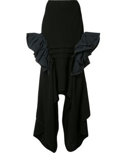 MATICEVSKI | Underworld Ruffle Skirt 6 Polyester/Nylon/Cotton