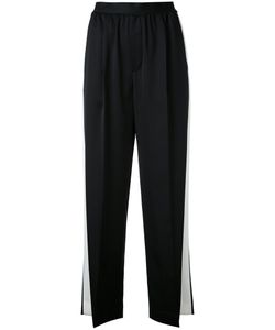 ASTRAET | Side Stripe Cropped Trousers Size 00 Cupro