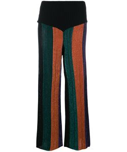 Circus Hotel | Striped Flared Trousers Women