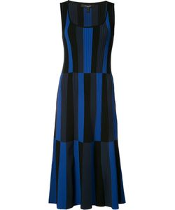 Derek Lam | Striped Scoop Neck Dress Size Medium