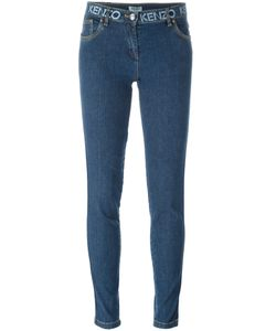 Kenzo | Logo Waistband Skinny Jeans 34 Cotton