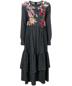 Antonio Marras | Платье С Вышитыми Цветами Бабочкой И Птицей