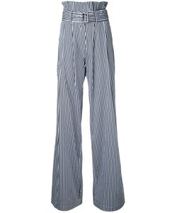 N Duo | Striped High-Waisted Trousers Size
