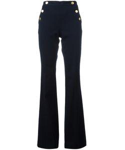 Michael Michael Kors | Fla Trousers 6 Cotton/Viscose/Spandex/Elastane