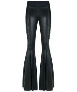 Andrea Bogosian | Leather Flared Trousers