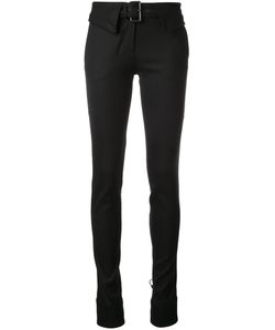 Monse | Belted Skinny Trousers 8 Nylon/Spandex/Elastane/Virgin Wool