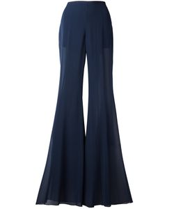Alberta Ferretti | Fla Trousers 42 Silk/Acetate/Other Fibers
