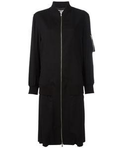 Mcq Alexander Mcqueen | Long Bomber Coat 42 Wool/Spandex/Elastane/Viscose
