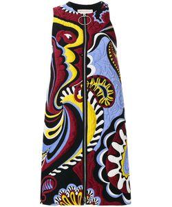 Emilio Pucci | Платье В Стиле Пэчворк С Вышивкой