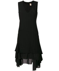 Pascal Millet | Платье С Глубоким Вырезом И Оборкой