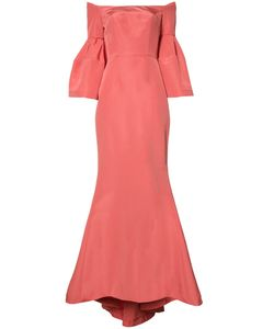 Carolina Herrera | Faille Evening Gown 2 Silk