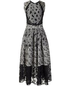 Sophie Theallet | Flared Mix Pattern Dress