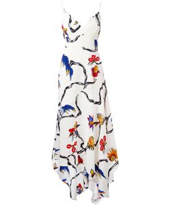 Lamania | La Mania Print Dress 40 Silk