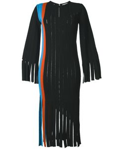 Marco De Vincenzo | Fringed Vertical Panel Dress 42