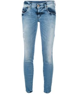 Diesel | Cropped Skinny Jeans 28 Cotton/Polyester/Spandex/Elastane