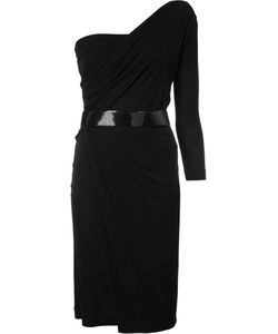 Dsquared2 | One Shoulder Asymmetric Dress Large Viscose/Cotton