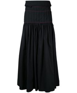 Ellery | Pleated Maxi Skirt 8 Polyester