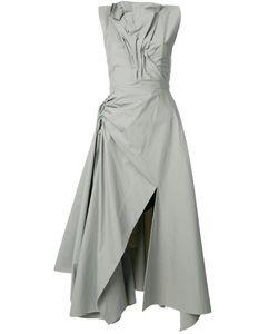 MATICEVSKI | Ruched Asymmetric Dress Women 8