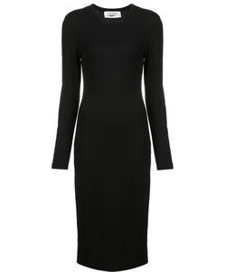 Prabal Gurung | Long Sleeve Knit Dress Medium Spandex/Elastane/Viscose