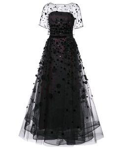 Carolina Herrera | Вечернее Платье Из Органзы