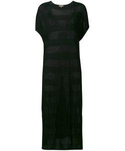 N.PEAL   Striped Sweat Dress Size Small