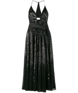 RACIL | Sequinned Halterneck Dress