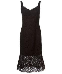 Dolce & Gabbana | Платье С Кружевной Отделкой
