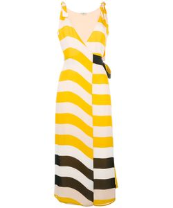 Fendi | Striped Dress 42 Silk