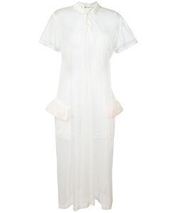 Comme Des Garcons | Comme Des Garçons Vintage Polo Neck Sheer Dress Large