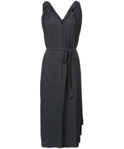 SMYTHE | Приталенное Платье С Узлами На Плечах