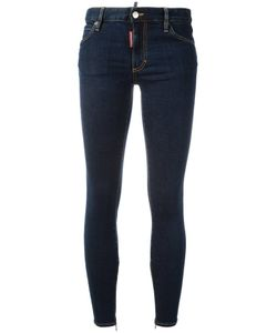 Dsquared2 | Twiggy Stonewashed Effect Jeans 44 Cotton/Spandex/Elastane/Polyester/Polyester