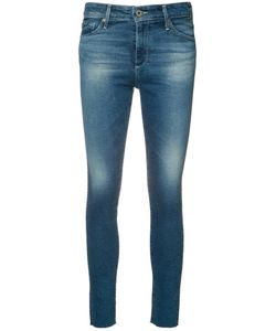 AG JEANS | Super Skinny Cropped Jeans 29 Cotton/Polyester/Spandex/Elastane