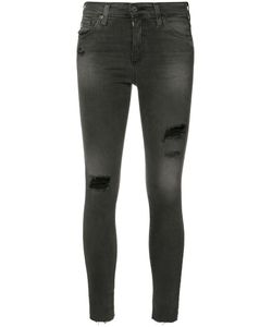 AG JEANS | Ripped Super Skinny Jeans Size 27