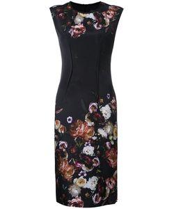 GINGER & SMART | Liaison Fitted Dress 12 Silk/Spandex/Elastane/Viscose