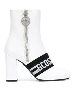 Gcds | Logo Stripe Ankle Boots