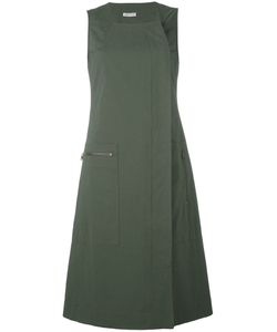 Tomas Maier | Dislocated Fastening Sleeveless Dress Size 4