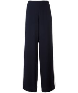 Alberta Ferretti | Side Stripe Trousers 46 Acetate/Rayon