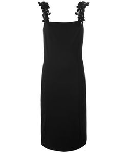 Cavalli Class | Leaves Motif Straps Dress