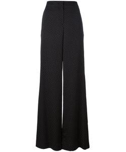 Diane Von Furstenberg | Micro Dot Palazzo Pants Size 8