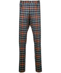 Pt01   Tartan Tailored Trousers Size 50