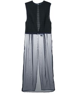 FACETASM | Pleats Check Dress 3 Polyester
