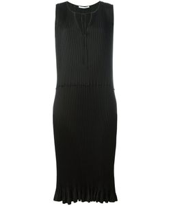 Agnona | Pleated Midi Dress 42 Silk/Cupro/Viscose