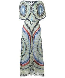Temperley London | Long Aura Dress 10 Nylon/Silk/Spandex/Elastane