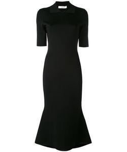 Victoria Beckham | Fitted Short Sleeve Dress