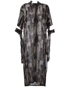 Damir Doma | Dench Dress Small Polyamide/Virgin Wool