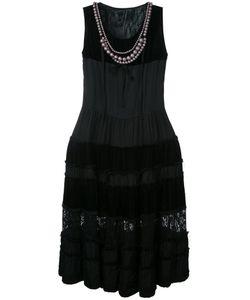 Comme Des Garcons | Платье С Жемчужным Воротником-Колье Vintage
