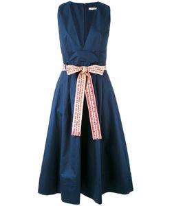 Miahatami | Belted V-Neck Dress 44