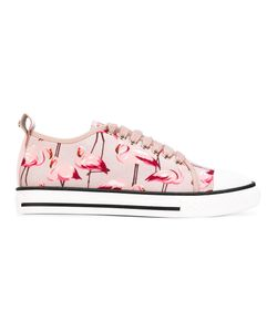 Red Valentino | Flamingo Print Sneakers